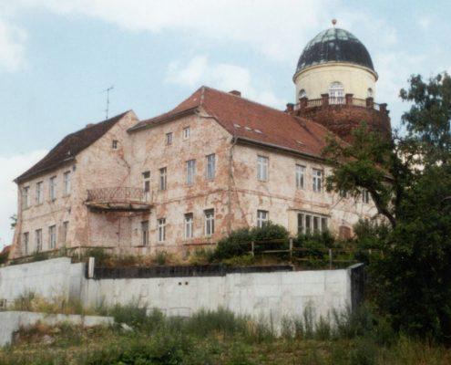 ERKA Pfahl Nachgründung und Hebung Burg Lenzen