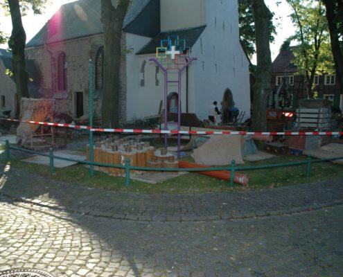 ERKA Pfahl Nachgründung Jakobuskirche in Hamm
