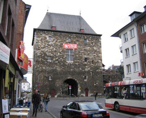 ERKA Pfahl Nachgründung Ponttor Aachen