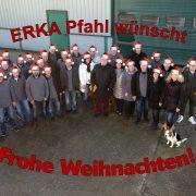 ERKA Pfahl wünscht Frohe Weihnachten!