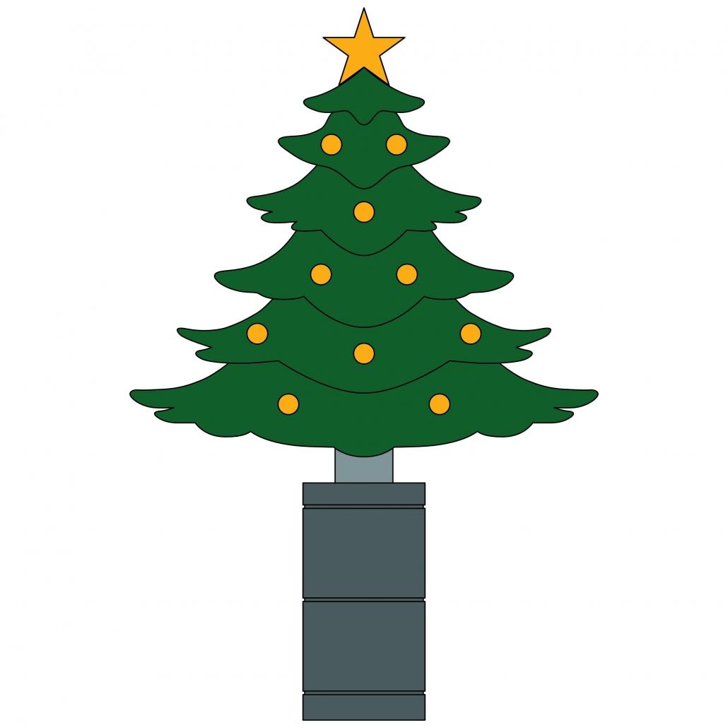 ERKA-Weihnachtsbaum