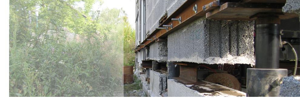 ERKA Pfahl kann Gebäude anheben und absenken