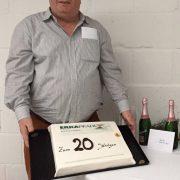20-jähriges Jubiläum von Henk de Jong