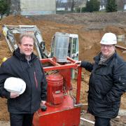 die alte Geschäftsführung: Ralf Engel und Henk de Jong
