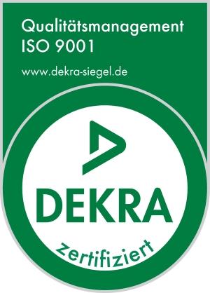 Qualitätsmanagement zertifiziert