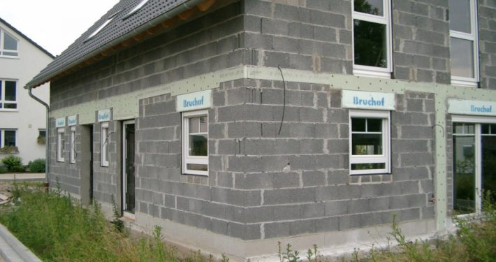 ERKA Pfahl Hebung Doppelhaus in Hürth