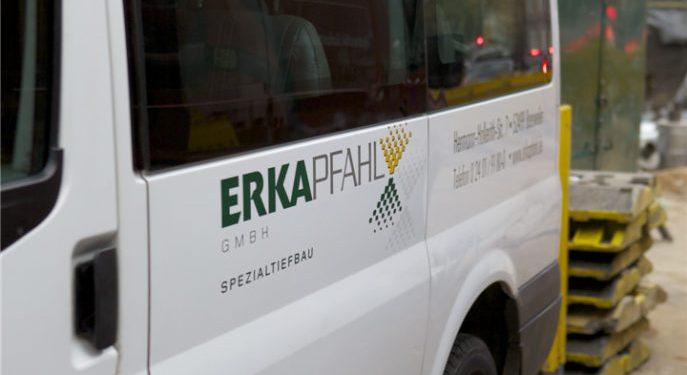 ERKA Pfahl Nachgründung in Düsseldorf
