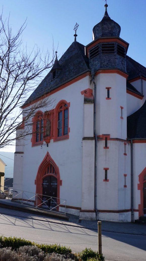 ERKA Pfahl Nachgründung Kirche St. Laurentius Waldrach