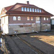 ERKA Pfahl Nachgründung und Verschiebung Wohnhaus in Bad Oeynhausen