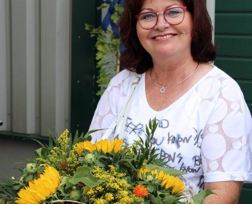 Ulrike de Jong freut sich schon auf die freie Zeit mit ihrem Mann