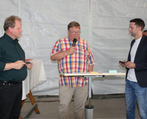 Übergabe des Unternehmens an Hendrik Jansen und Ralf Engel.