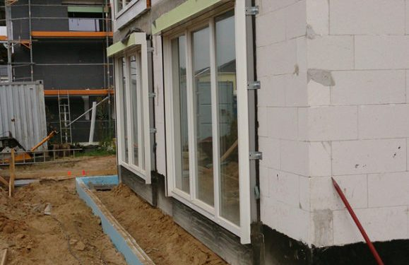 ERKA Pfahl Verschiebung Einfamilienhaus in Hannover