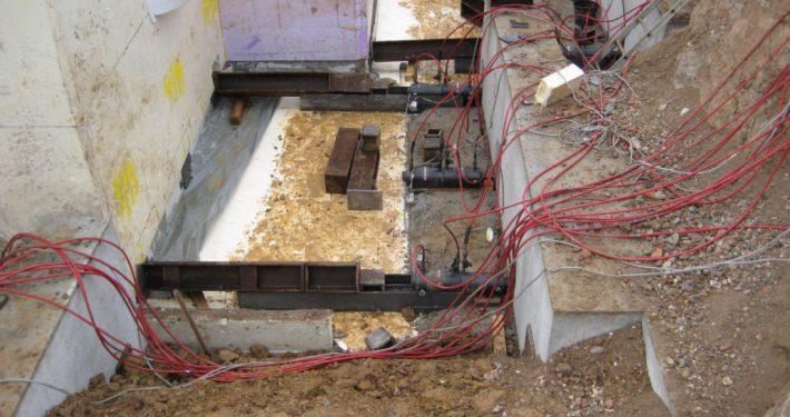 ERKA Pfahl Verschiebung Wohnhaus in Ingolstadt
